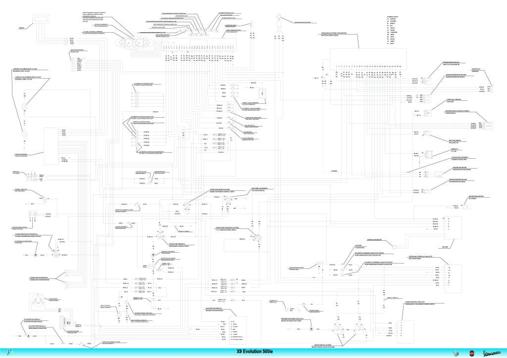 X9 500 Evo Wiring Diagram Pdf  1 18 Mb